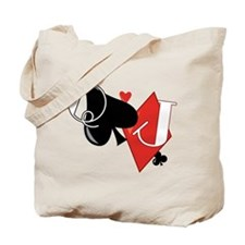 Spade and Diamond Tote Bag