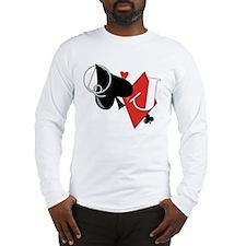 Spade and Diamond Long Sleeve T-Shirt