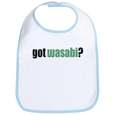 Got Wasabi? Baby Bib