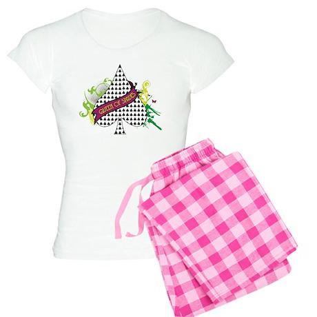 Queen of Spades Women's Light Pajamas