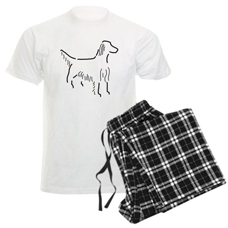 Irish Setter Sketch Men's Light Pajamas