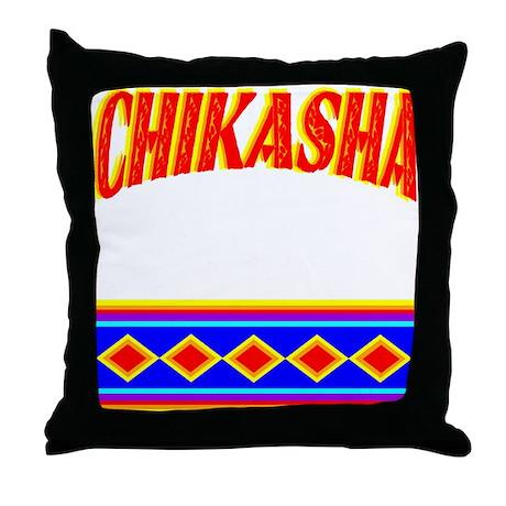 CHIKASHA Throw Pillow