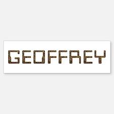 Geoffrey Circuit Bumper Bumper Bumper Sticker