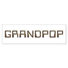 Grandpop Circuit Bumper Bumper Sticker