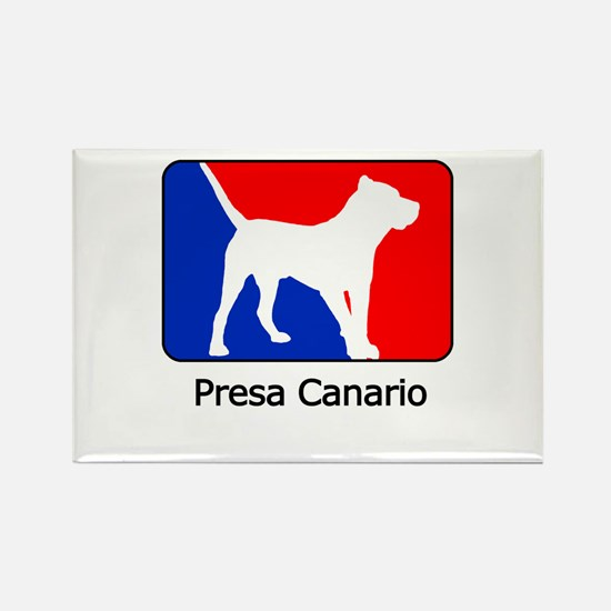 RWB Presa Canario Rectangle Magnet