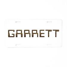 Garrett Circuit Aluminum License Plate