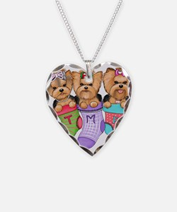 Christmas pups Necklace