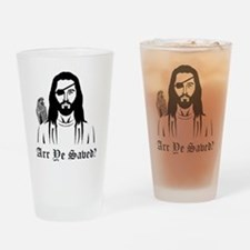 Pirate Jesus Drinking Glass