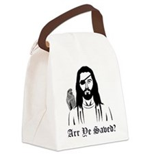 Pirate Jesus Canvas Lunch Bag