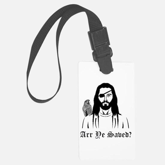 Pirate Jesus Luggage Tag