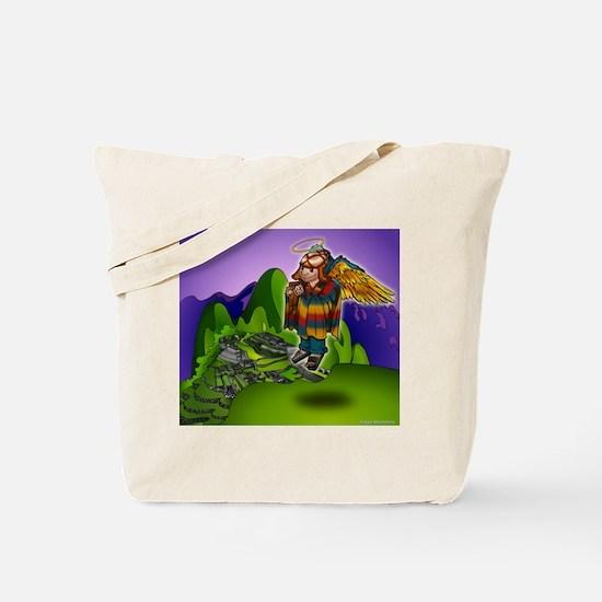Angel de Machu Picchu Tote Bag