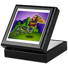 Angel de Machu Picchu Keepsake Box