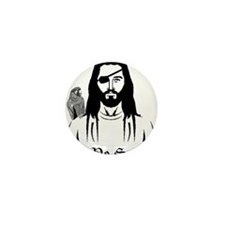 Pirate Jesus Mini Button (10 pack)