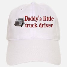 Little Truck Driver Baseball Baseball Cap