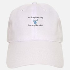 Angels with label makers Baseball Baseball Cap