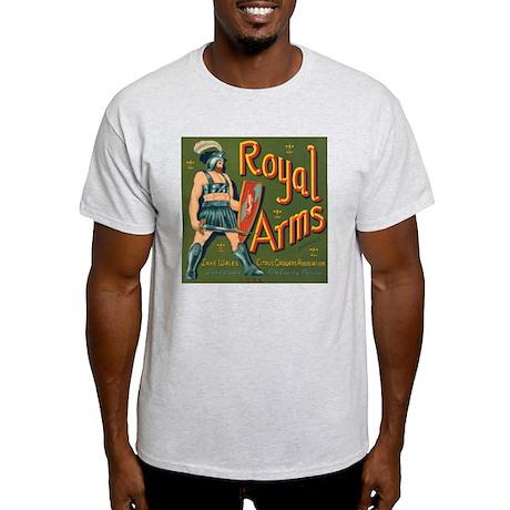 Royal Arms Ash Grey T-Shirt