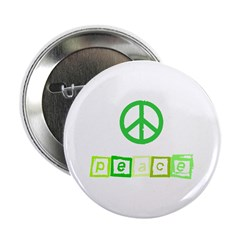 Green Peace Sign 2.25