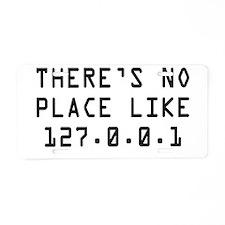 noplace.jpg Aluminum License Plate