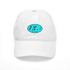 Half Marathon 13.1 aqua Baseball Cap