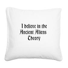 Ancient Aliens Square Canvas Pillow