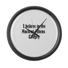 Ancient Aliens Large Wall Clock