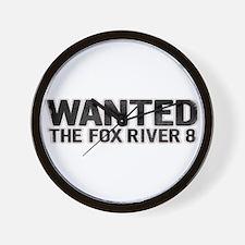 Fox River 8 Wall Clock