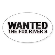 Fox River 8 Oval Decal