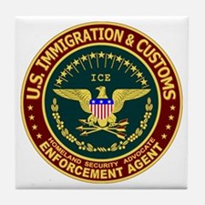 IMMIGRATION & CUSTOMS - ICE: Tile Coaster