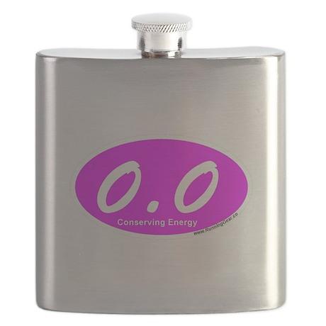 Pink Zero Point Zero Flask