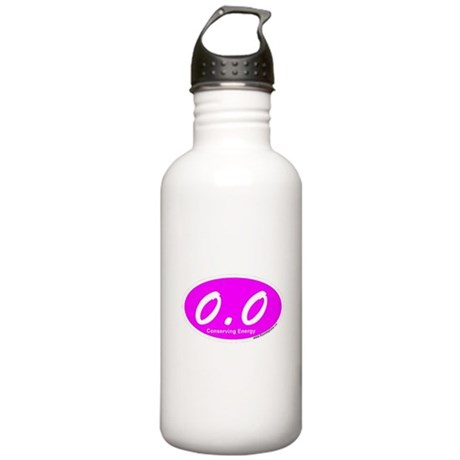 Pink Zero Point Zero Stainless Water Bottle 1.0L