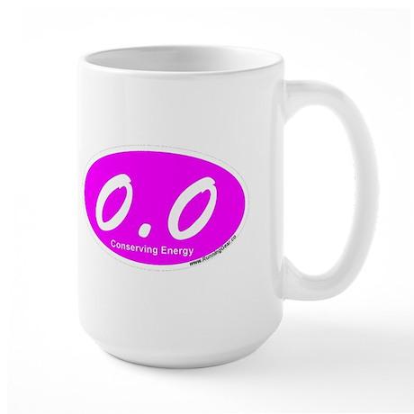 Pink Zero Point Zero Large Mug