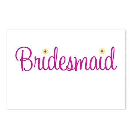 Bridesmaid Postcards (Package of 8)