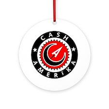 Cash Amerika Ornament (Round)