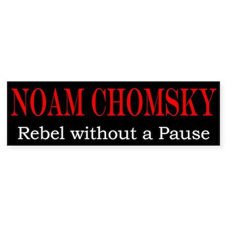 Chomsky Bumper Sticker