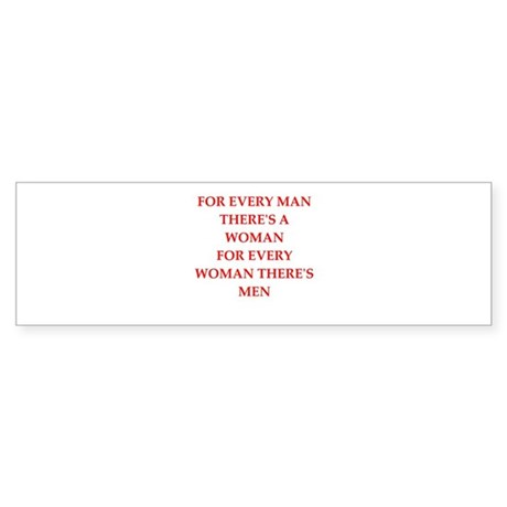 woman Sticker (Bumper)