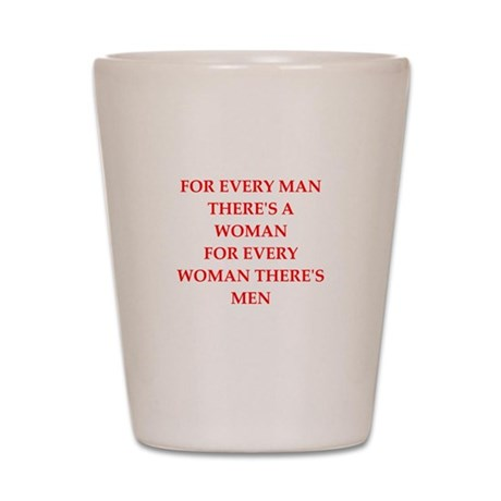 woman Shot Glass
