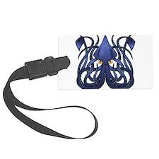 Squid Luggage Tag