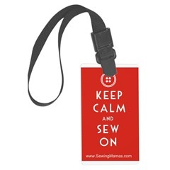 Sewing Mama Sew On Luggage Tag