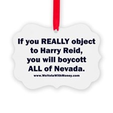 Boycott All of Nevada 1 Ornament