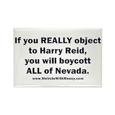 Boycott All of Nevada 1 Rectangle Magnet