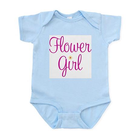 Flower Girl Infant Creeper