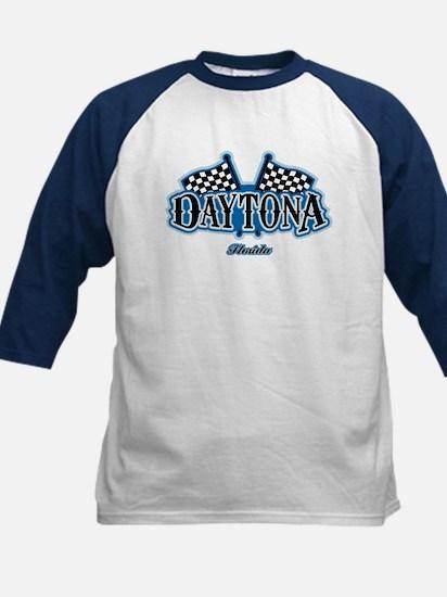 Daytona Flagged Kids Baseball Jersey