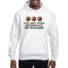 Funny Italian Meatballs Hoodie
