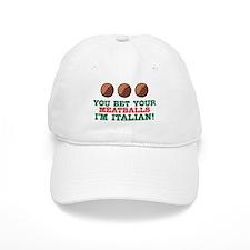 Funny Italian Meatballs Baseball Cap