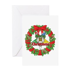 OES Wreath Greeting Card