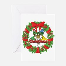 OES Wreath Greeting Cards (Pk of 20)