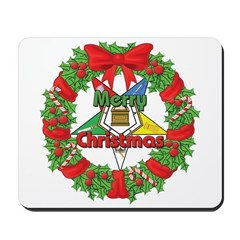 OES Wreath Mousepad