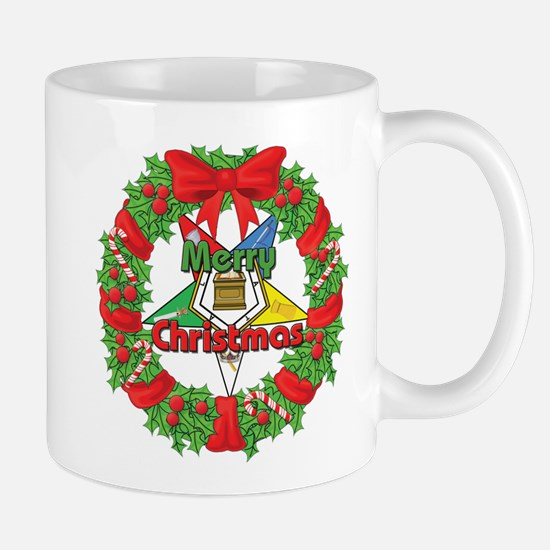 OES Wreath Mug