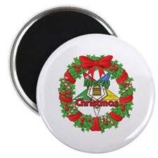 """OES Wreath 2.25"""" Magnet (10 pack)"""