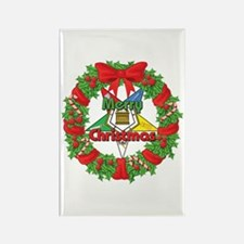 OES Wreath Rectangle Magnet